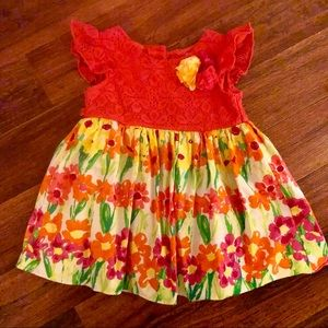 Adorable spring dress! Perfect for Easter!